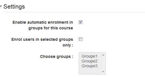 Admin tools voor automatisch aanmelden in een Moodle groep